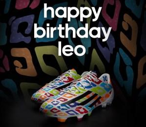 Happy Birthday Messi Boots