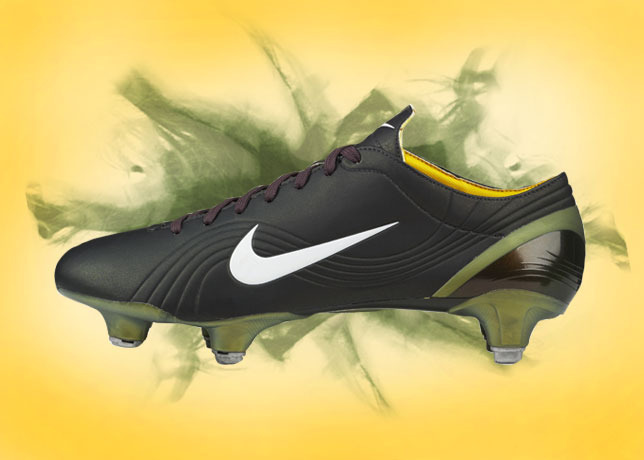 as the original nike mercurial borrowed designed language from an italian motorcycle (specifically f