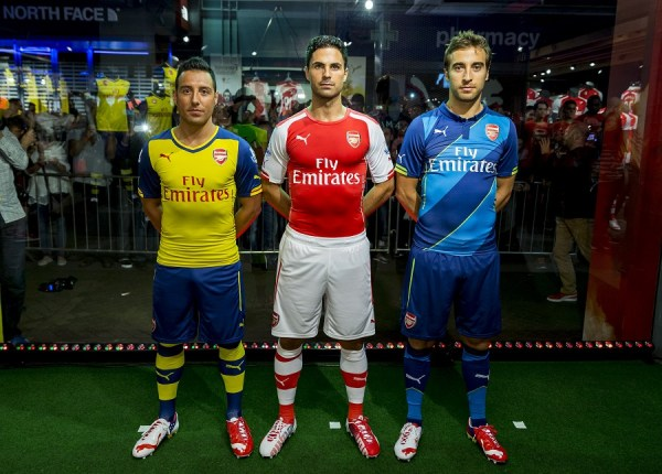 New Arsenal Kits