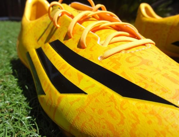 Messi adiZero f50 Upper Detailing (c)