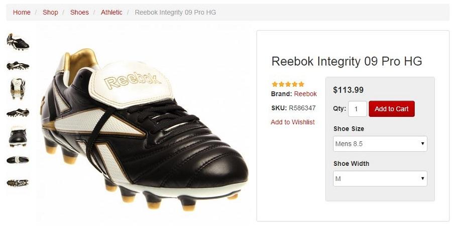 Reebok Integrity pro MS