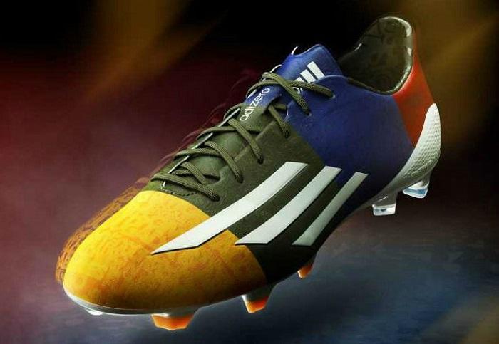 newest 618c2 649b4 adiZero f50 Messi Champions League. adidas today unveiled the second signature  Lionel ...