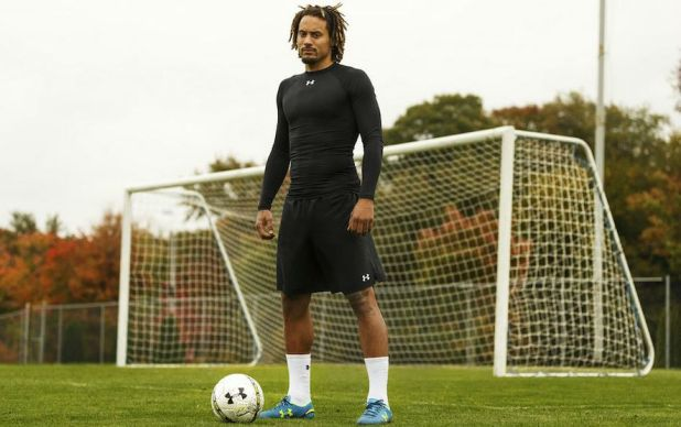 Jermaine Jones in Under Armour