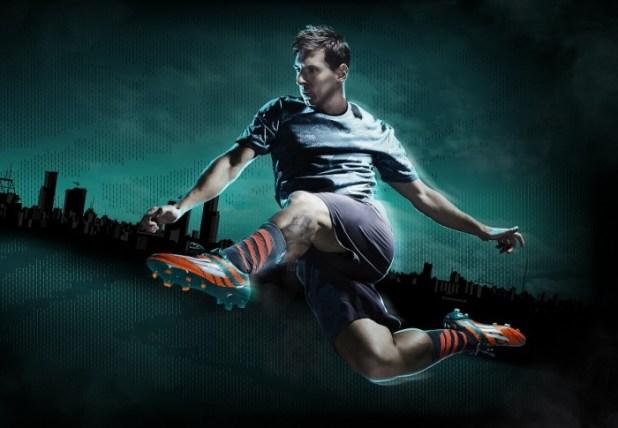 Messi in adidas adiZero Mirosar10