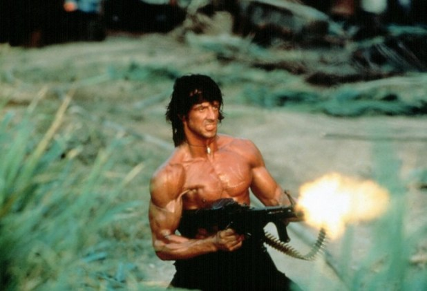 Little known fact: John Rambo often wore New Balance boots while blowing away Comintern soldiers