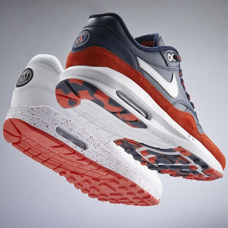 Barcelona and PSG Fans Get NikeID Air Max 1 Option | Soccer