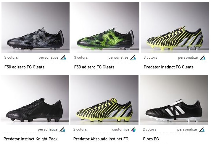Adidas Offering Free Personalization on New Boots | Soccer
