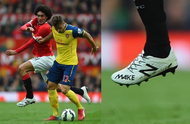 Fellaini New Balance Make Message