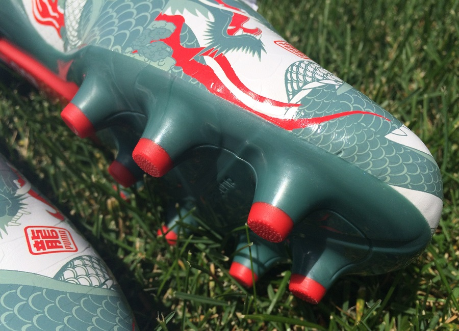 b1cd7208522 evoSPEED 1.3 Dragon Up Close. Puma evoSPEED 1.3 Dragon Frorefoot and  Soleplate