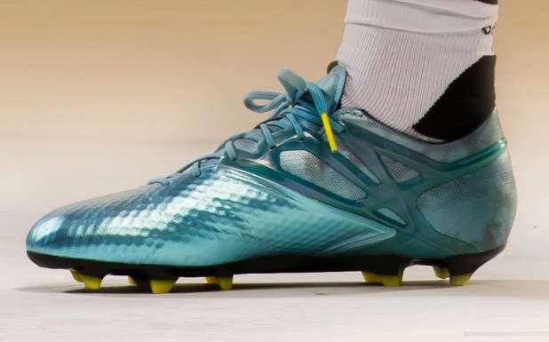 Adidas Messi15 In His New Boots