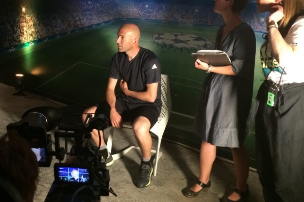 Zidane Interview