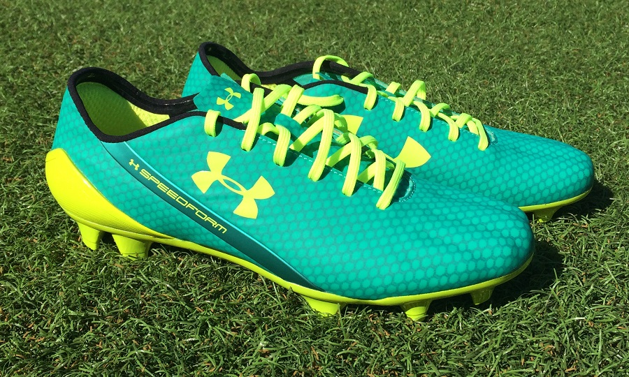 But a design like this has to work, otherwise there is potential that fans  will lose interest in future UA releases. UA SpeedForm FG Boots
