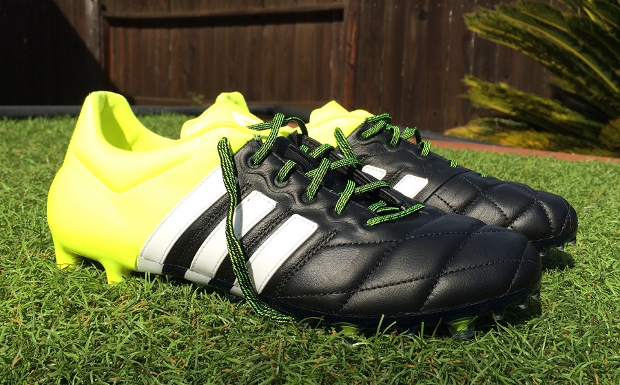 Mucho bien bueno Haz un experimento responder  Adidas Ace15.1 Leather - Boot Review | Soccer Cleats 101