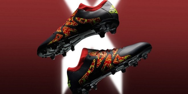 Adidas X15 Glorious Pack feature