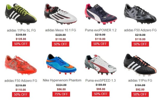 WeGotSoccer Labor Day Sale
