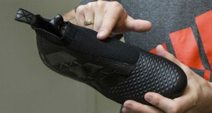 Blackout Adidas Laceless Boots