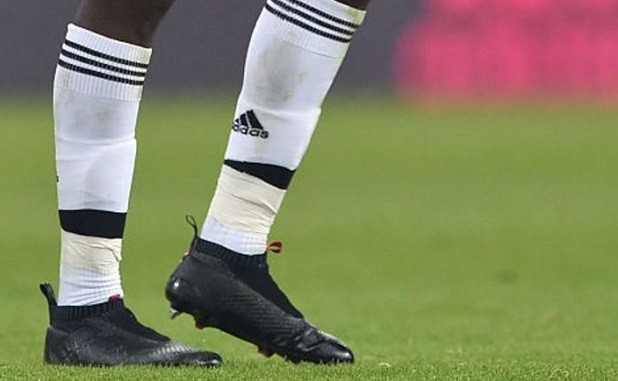 Pogba in adidas Laceless