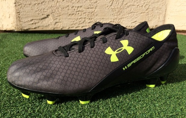 Under Armour SpeedForm Black Graphite