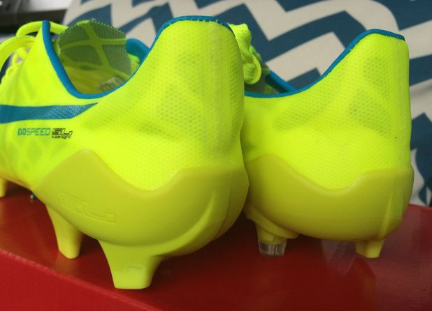 evoSPEED SL Safety Yellow Heel Design