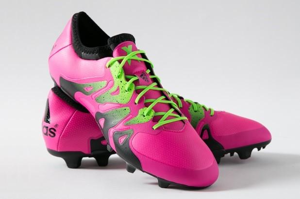 Pink Adidas X15 Chaos
