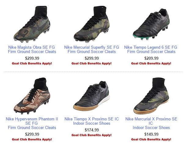 Nike Camo Pack Available