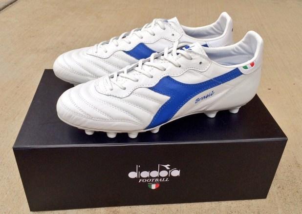 Diadora Brasil Italy White Blue