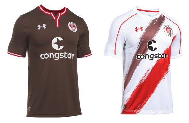 FC St Pauli Home and Away Kit