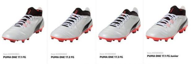Puma ONE Full Boot Range