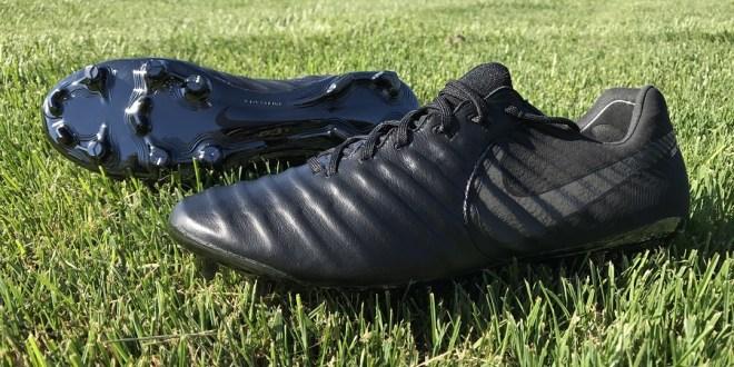 "Special Edition Nike Tiempo VII ""Black Platinum"""