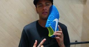Neymar with Written In The Stars