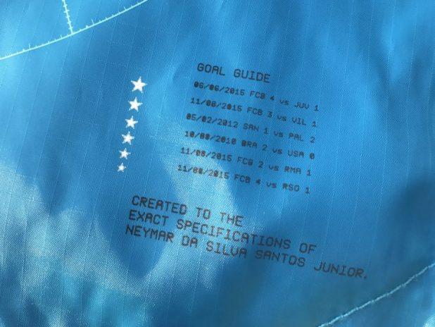 Neymar Nike Vapor XI Boot Bag Detailing