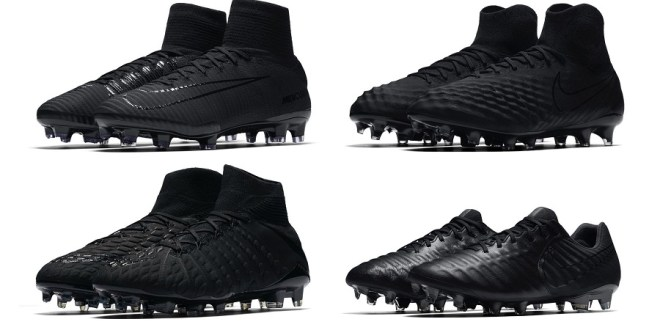 "Nike Drops Latest Pure Blackout ""Academy Pack"""
