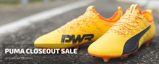 Puma Closeout Sale