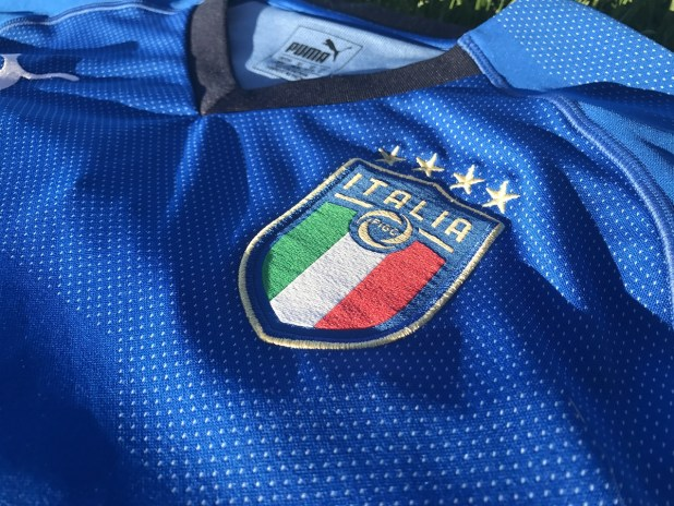 Italy 2018 Home Kit with Puma