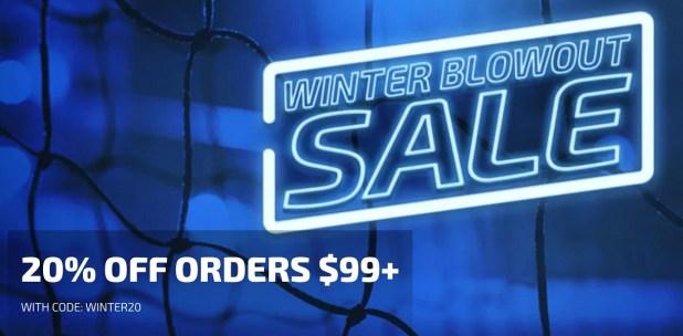Winter Blowout Sale 2018 Details