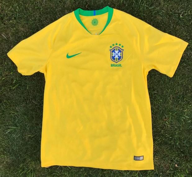 Nike Brazil Jersey 2018