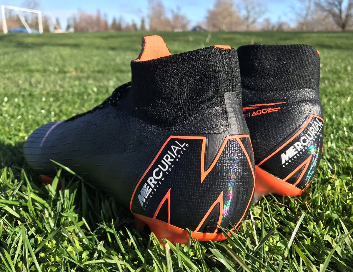 4ae926324 ... special edition boots that take the Mercurial into the world of  fashion. Both designs feature the original Total Orange upper colorway,  with individual ...