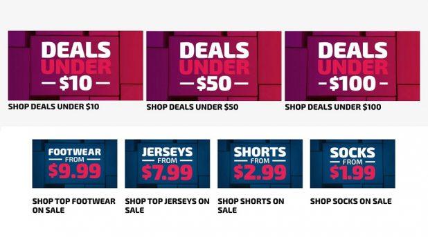 Warehouse Sale Soccer
