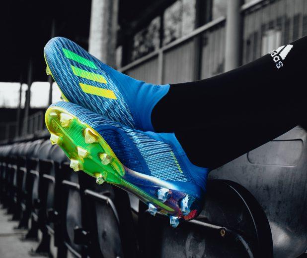adidas X18 On Feet Stadium