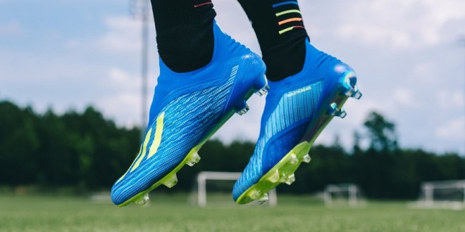 adidas X18 Purespeed On Foot