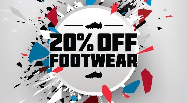 World Cup Fever – Take An Extra 20% Off Footwear!