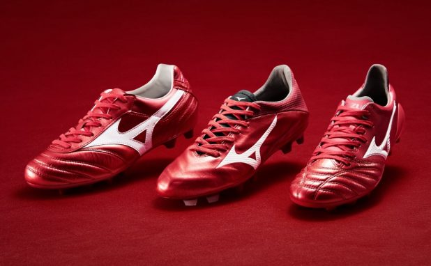 Mizuno World Cup Boots High Risk Red