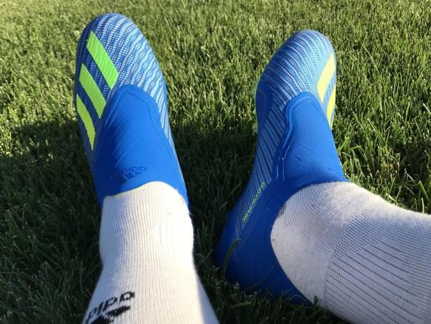 adidas X18+ Purespeed On Foot