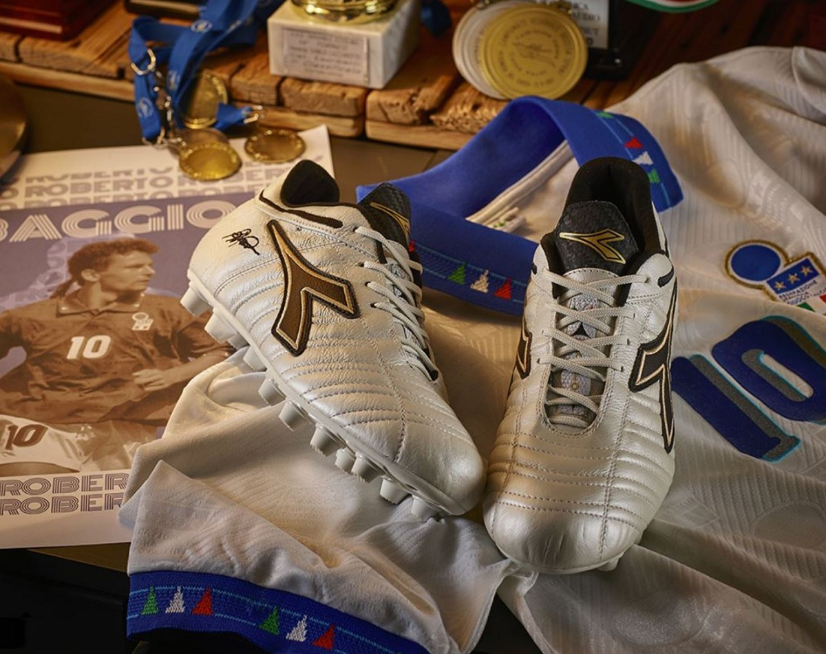 dd4720ce13db9 Special Edition Diadora Baggio 03 Italy OG Released | Soccer Cleats 101