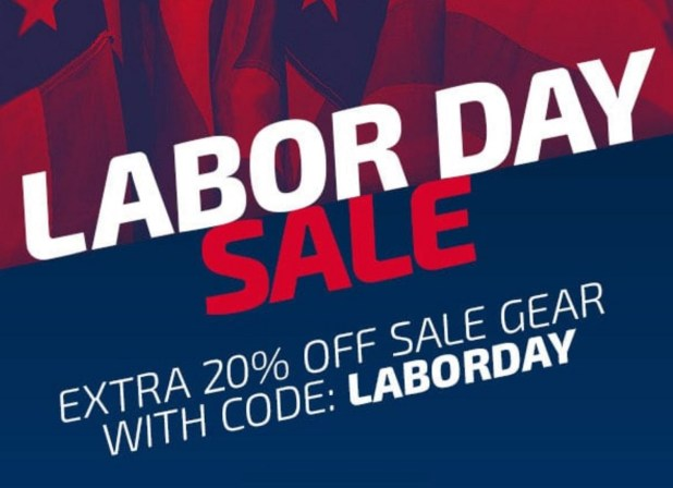 Labor Day 2018 Soccer Sale