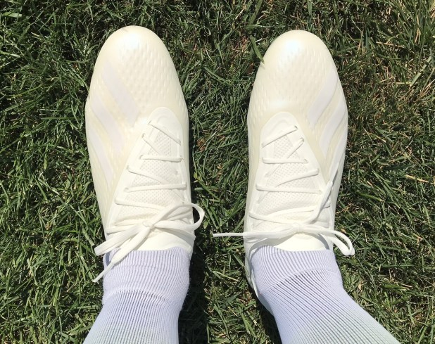 adidas X18.1 Spectral Mode On Foot