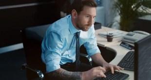 Messi On The Job