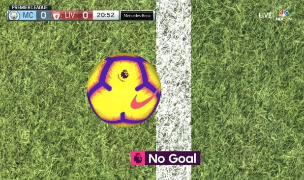 Nike and Goal Line Technology