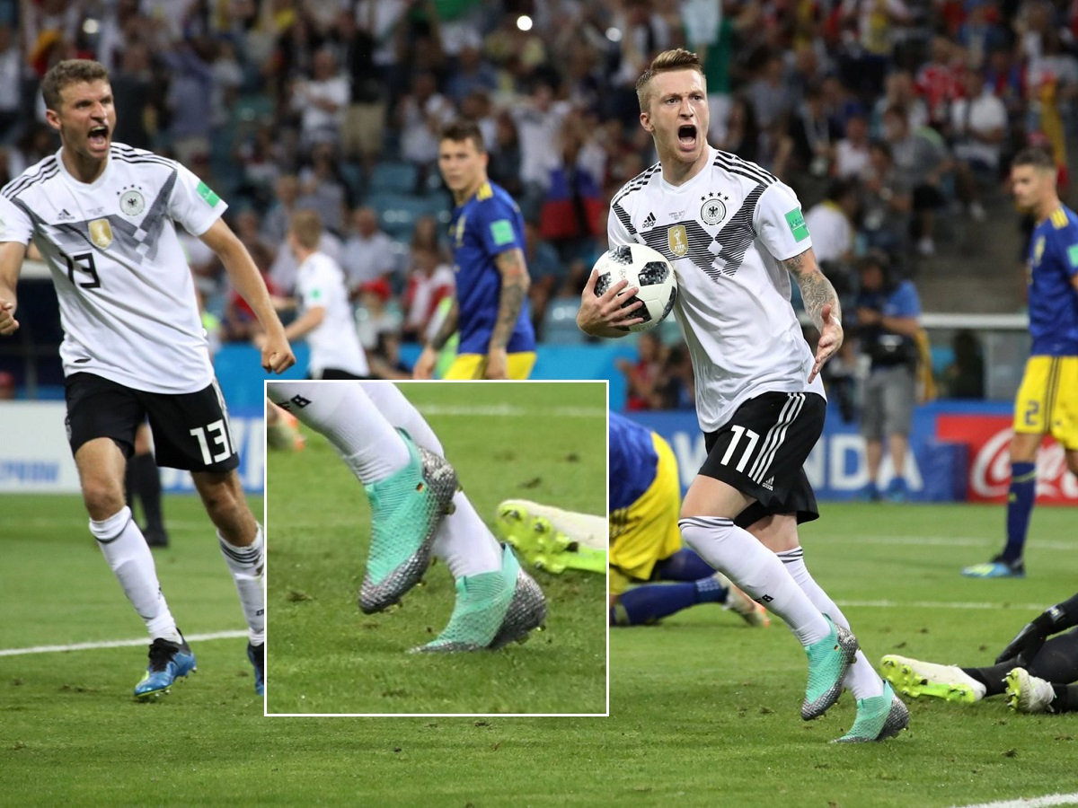 MARCO REUS MAKES HIS OWN LACELESS BOOTS! *PUMA IS NOT HAPPY!*