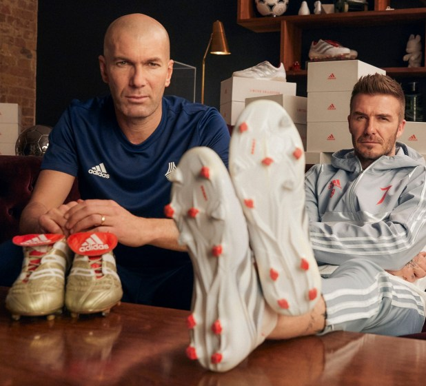 Beckham and Zidane Predator Remakes 2019